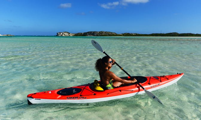 Enjoy Kayak Rentals in Cockburn Harbour, Turks and Caicos Islands