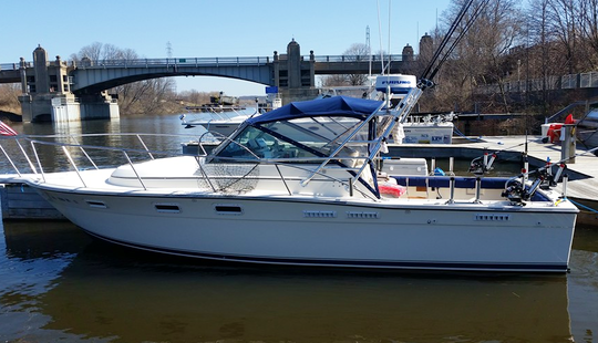 Fishing Charter On 30' Tiara Center Console In Manistee, Michigan