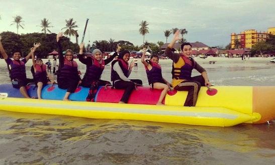 Enjoy Banana Rides In Langkawi, Kedah