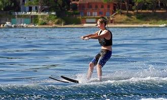 Enjoy Waterskiing in Snagov, Romania