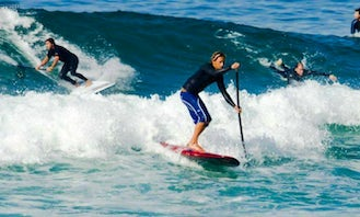 Enjoy Stand Up Paddleboard Surf in Cascais, Lisboa