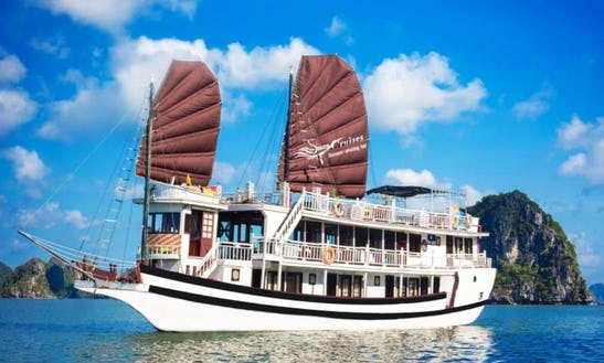 Enjoy Cruising In Thành Phố Hạ Long, Vietnam On Swan Passenger Boat