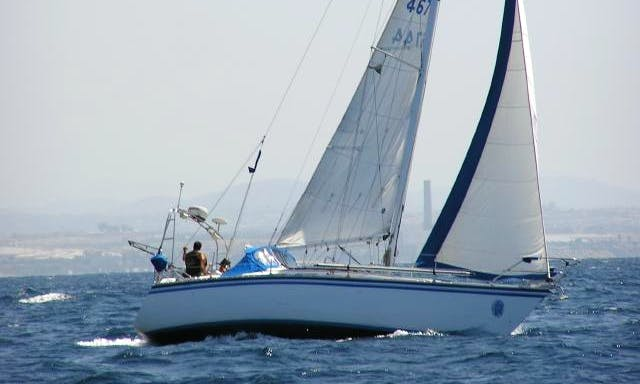"Sailing Charters On 36ft ""Breath of an Angel"" Cruising Monohull In Oceanside, California"