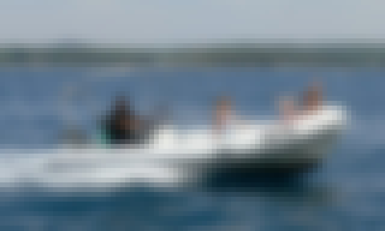 Rent a 10 person Stingher RIB rental in Vrsar, Croatia