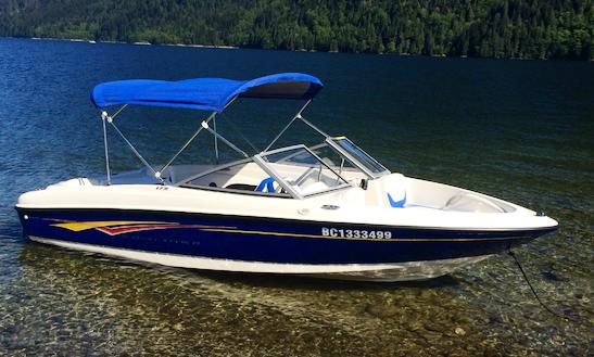 18' Bayliner 175br  Bowrider Boat Rental In Maple Ridge, British Columbia