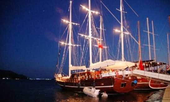 Yucebey Deluxe Yacht Charter In Dodecanese, Bodrum And Marmaris