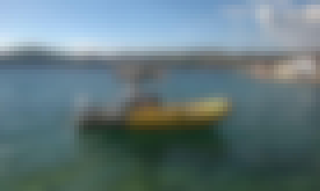 Rent 18' Bura Rigid Inflatable Boat in Splitsko-Dalmatinska, Croatia