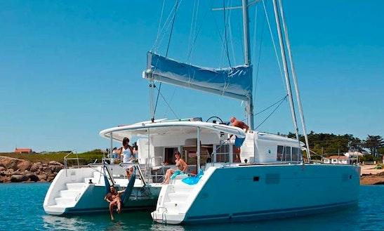 Charter 45' Lagoon Cruising Catamaran In Limasol, Cyprus