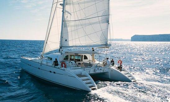 Charter 57' Lagoon Cruising Catamaran In San Pawl Il-baħar, Malta