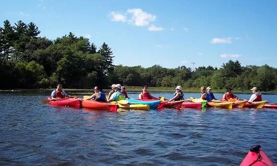 Single Kayak Rental In Milford, Massachusetts