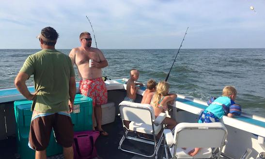 Fishing Charter On 42ft
