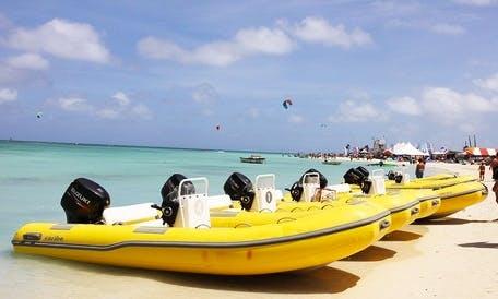 Ultimate Island Boat Tour in Noord, Aruba