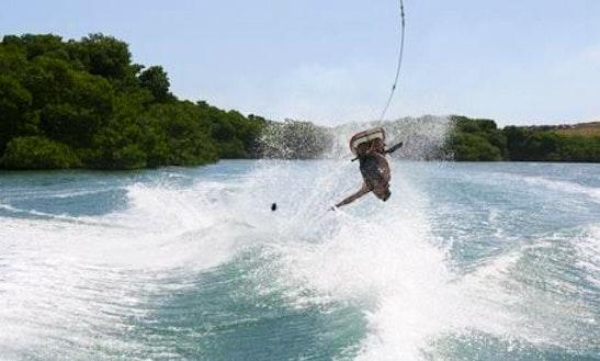 Water Skiing Lesson In Noord, Aruba