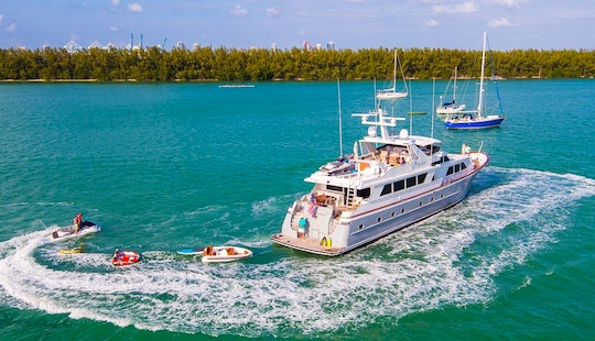 Luxury Yacht Charters -103' Broward - Miami, Florida Keys & Bahamas!
