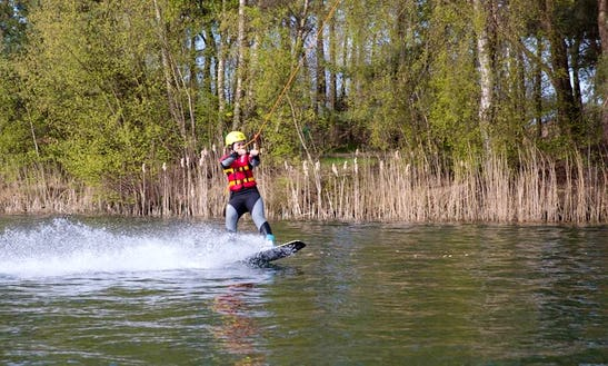 Enjoy Wakeboarding In Hoogstraten, Belgium