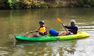 Enjou Double Kayak Rentals in Vayrac, France