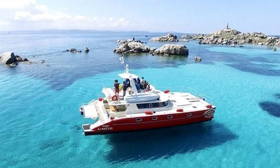 Charter 46' Orgone Power Catamaran In Porto-vecchio, France