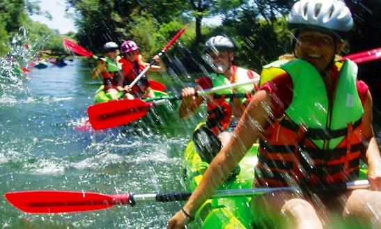 Enjoy Kayak Trips In Novigrad, Croatia