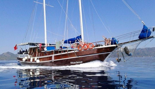 Gulet Sailing Charter A In Muğla, Turkey For 16 People