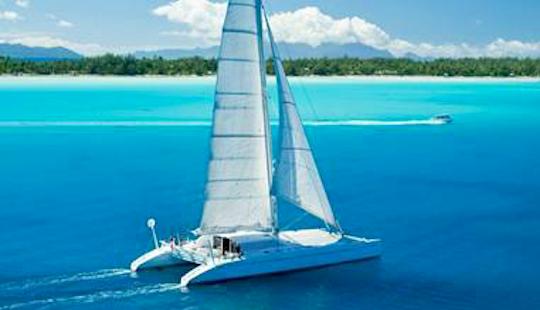 Charter 34' Pp 400 Cruising Catamaran In Kuta Selatan, Indonesia