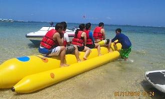 Enjoy Banana Boat Rides Kuta Selatan, Bali