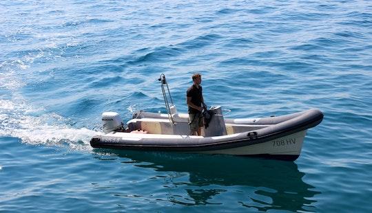 Rent Vsr 19' Rigid Inflatable Boat In Split, Croatia