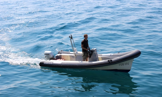 Rent Vsr 19' Rigid Inflatable Boat In Split, Croatia