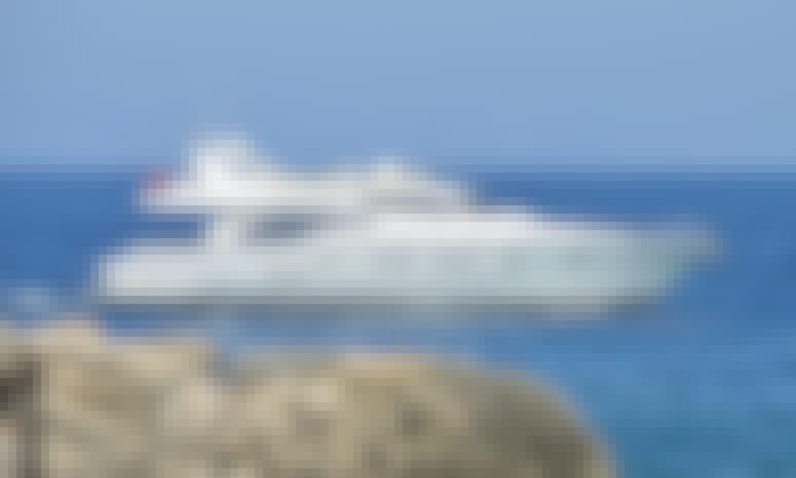 "Crewed Charter ""Mary"" Ferretti 68 Power Mega Yacht in Alimos, Greece"