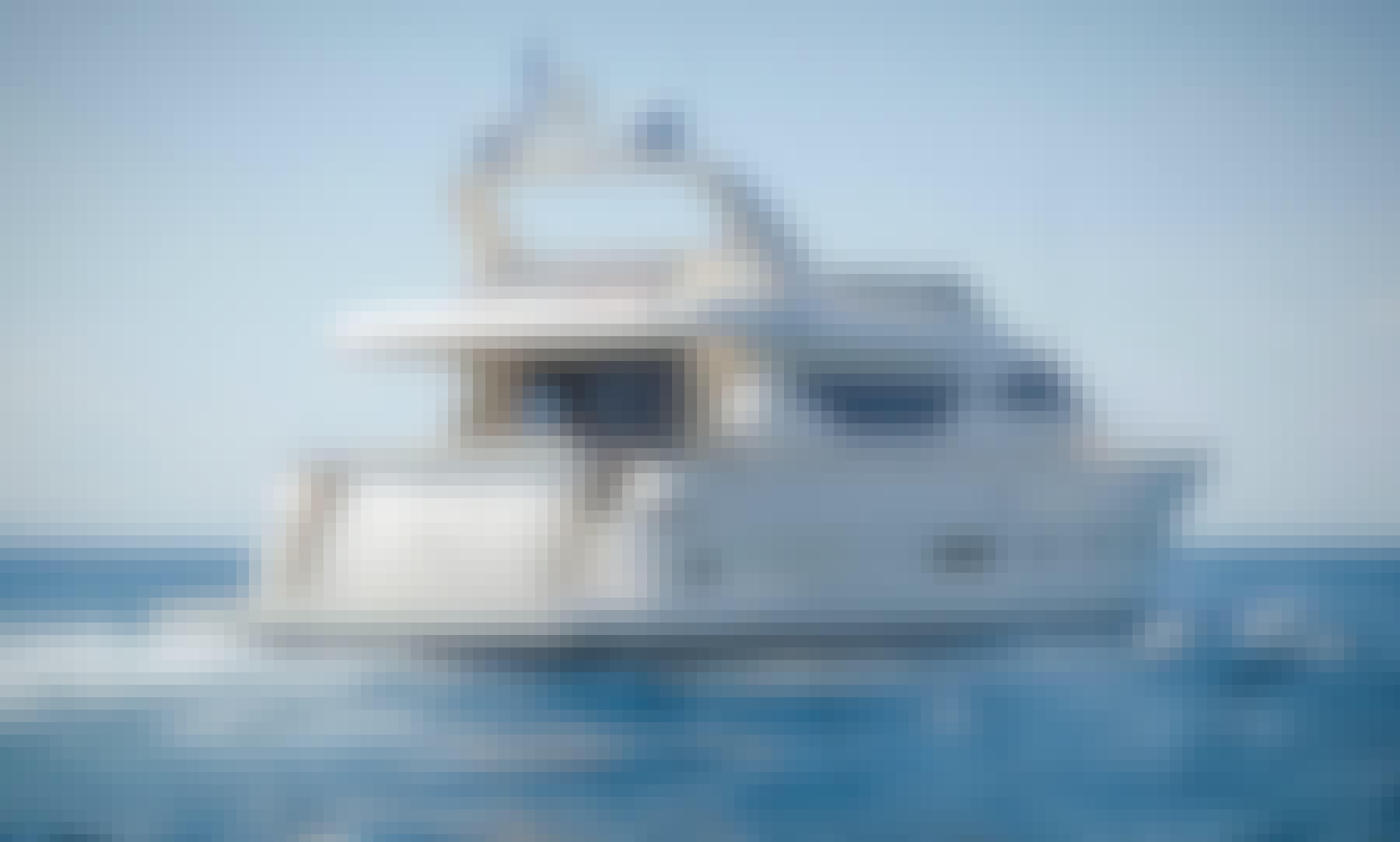 "Charter 78ft ""My Alfea"" Alalunga Power Mega Yacht  in Alimos"
