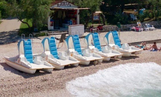Rent a Pedal Boat in Supetar, Brac