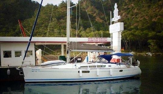 Charter 44' Sun Odyssey Cruising Monohull In Mugla, Turkey