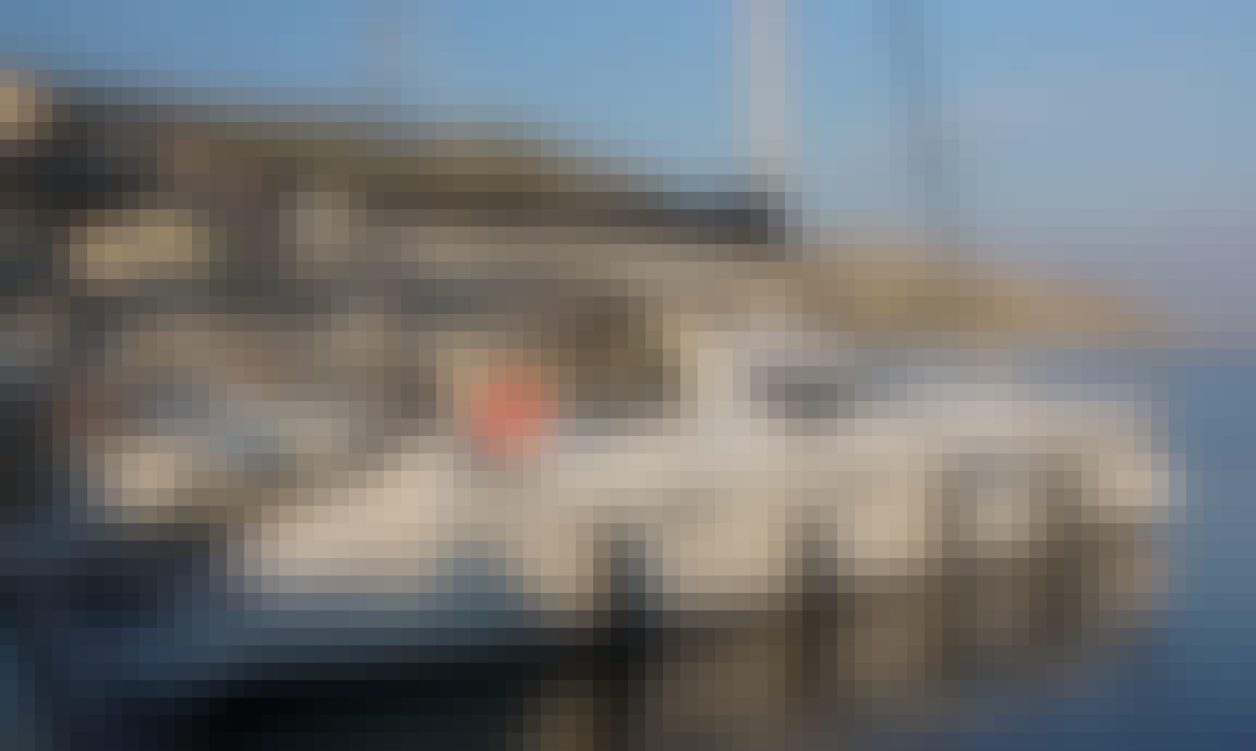 Charter 46' Privilege Cruising Catamaran in Mugla, Turkey
