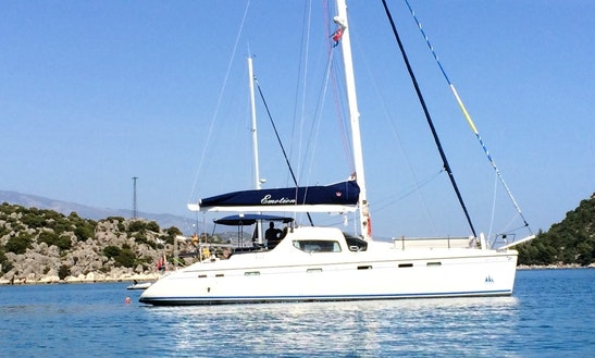 Charter 46' Privilege Cruising Catamaran In Mugla, Turkey