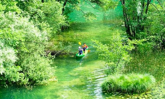 Enjoy Kayak Trips In Primislje, Croatia