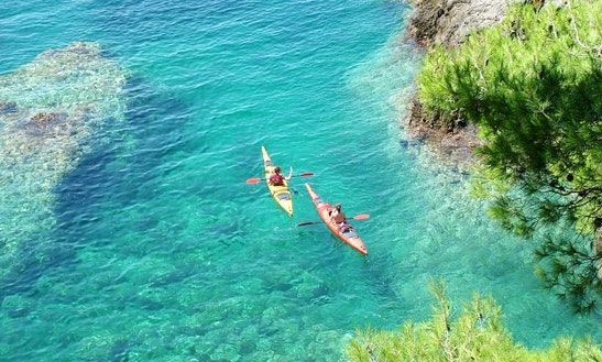 Enjoy Single Kayak Trips In Istria, Rovinj