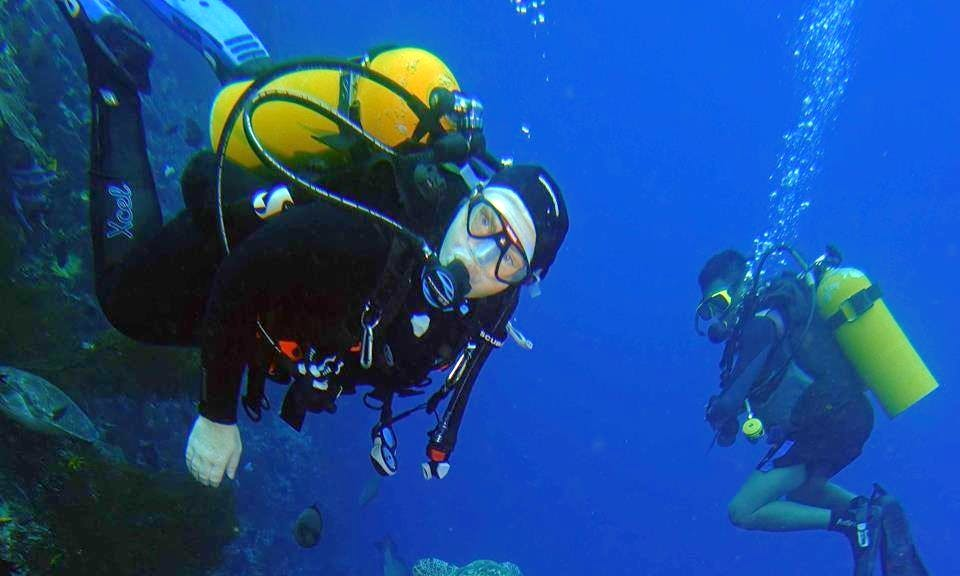 Enjoy Diving Courses in Tombariri, Indonesia