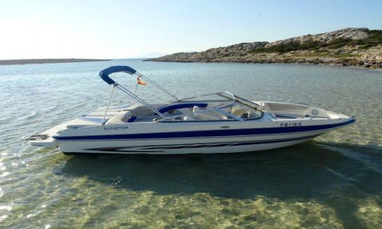 23' Deck Boat Rental In Illes Balears, Spain