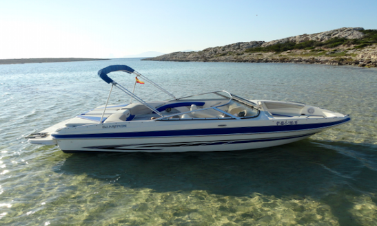 23' Deck Boat Rental In Illes Balears, Spain