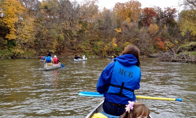 Canoe River Trips with a Friendly Guides in Monticello, Iowa