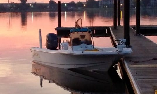 New Bern Inshore Fishing Charter on 22' Bay Boat