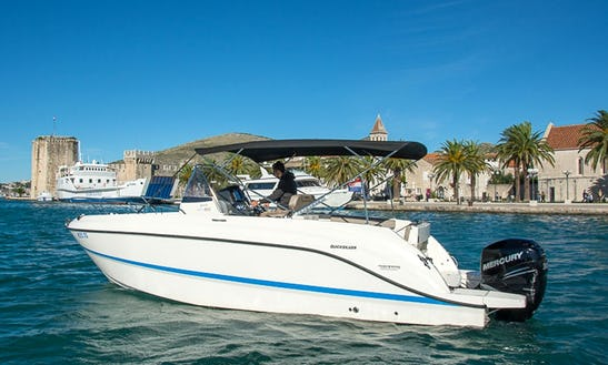 Enjoy Croatian Island On 26' Quicksilver Activ 805 Powerboat