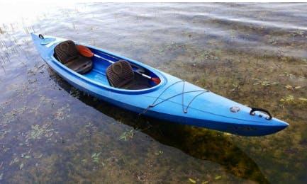 Polyethylene Kayak Rental In Palūšė, Lithuania