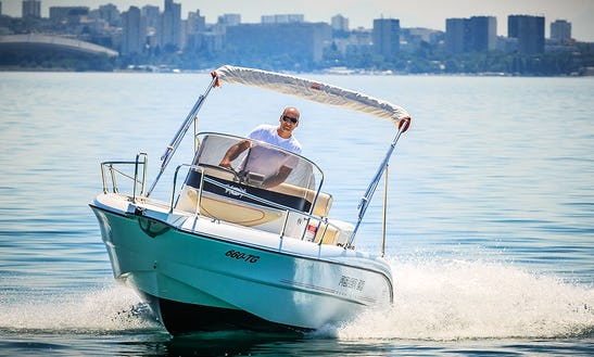 Rent The Fisher 20 Sun Deck Powerboat In Trogir, Croatia