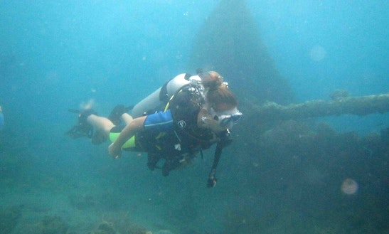 Enjoy Diving Courses In Abang, Indonesia