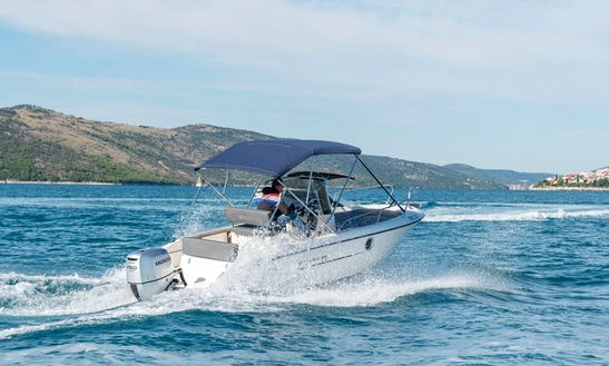 Rent 21' Sessa Keylargo 20 Powerboat In Trogir, Croatia