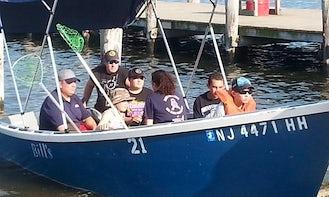 Rent a Hibberd 16 Skiff Fishing Boat in Seaside Heights