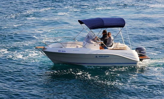 Rent This Quicksilver Commander 525 Center Console In Trogir, Croatia