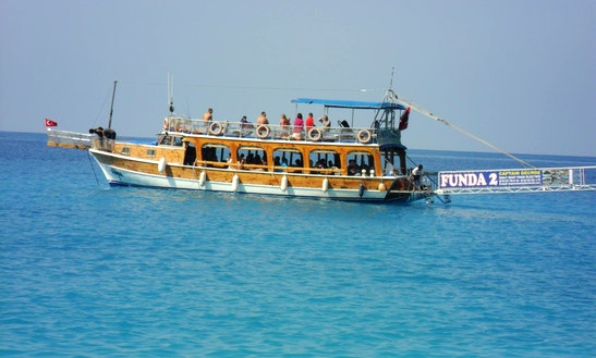 Enjoy Sightseeing In Muğla, Turkey On Funda 2 Motor Yacht