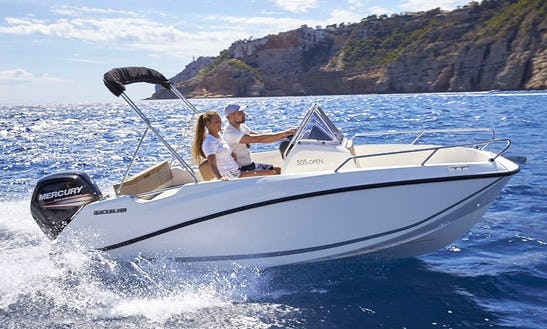 Rent The Quicksilver Activ 505 Open Powerboat In Trogir, Croatia