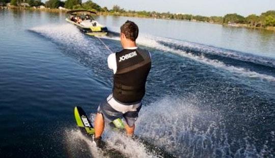 Water Skiing In Trogir, Croatia